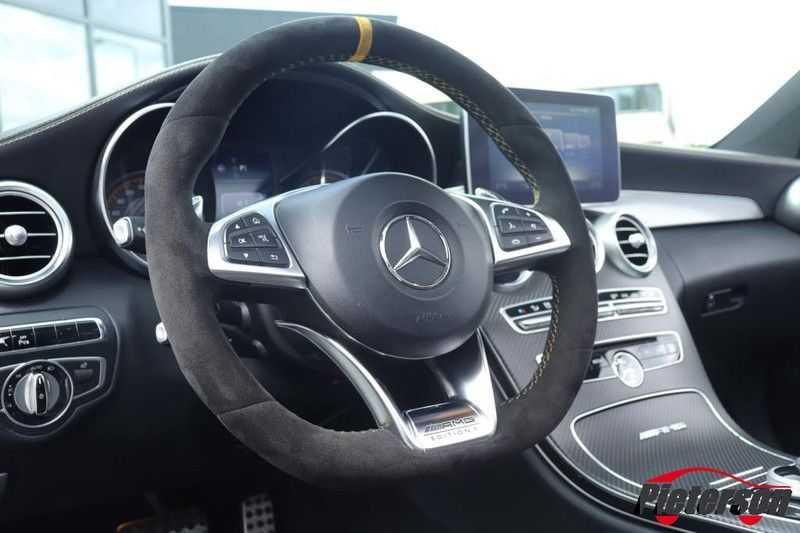 Mercedes-Benz C-Klasse C 63 S AMG Coupé Edition 1 Pano Schalensitze afbeelding 11
