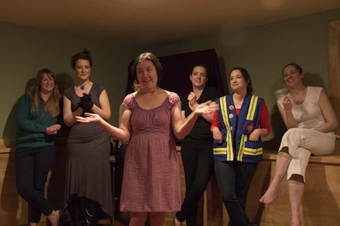 Picture of Heather Kellogg, Martha Rynberg, Ramya Vijayan, Tracy Held Potter, Colleen Egan, Theresa Donahoe, and Maura Halloran.