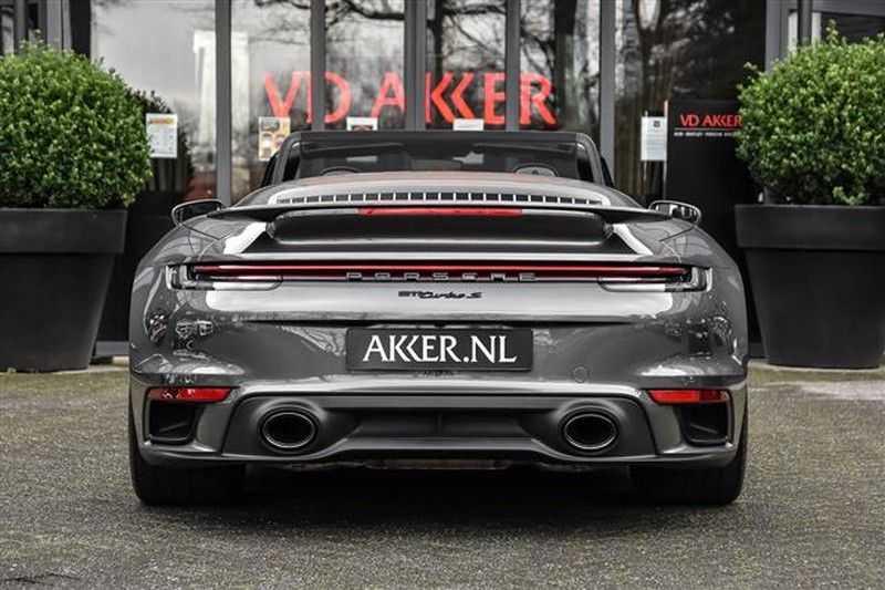 Porsche 911 TURBO S CABRIO ACC+ST.KOELING+MATRIX LED afbeelding 15
