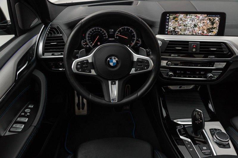 "BMW X3 M40i xDrive 340pk Panoramadak VirtualCockpit ShadowLine Sportleder+Memory Head-Up ACC Harman/Kardon AmbientLight Keyless 20"" 360Camera ParkAssist Pdc afbeelding 4"