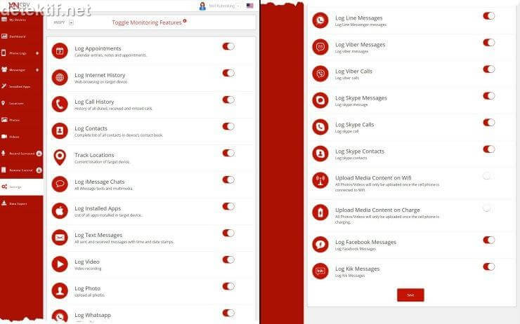 aplikasi penyadap mobile tracker dengan tablet