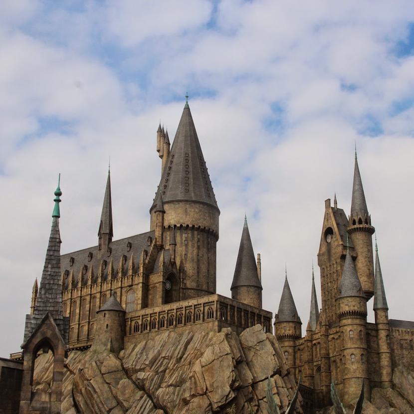 Замок Хогвартс настудии Universal