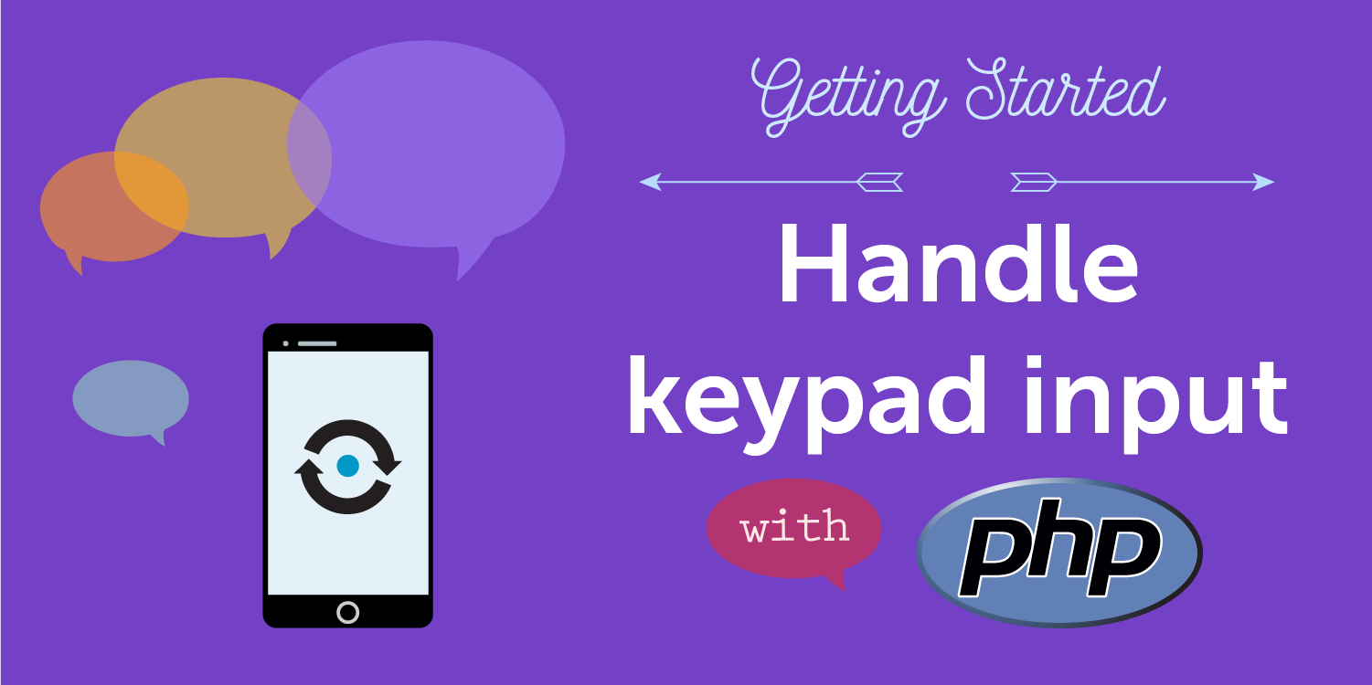 Handle Keypad Input (DTMF) with PHP