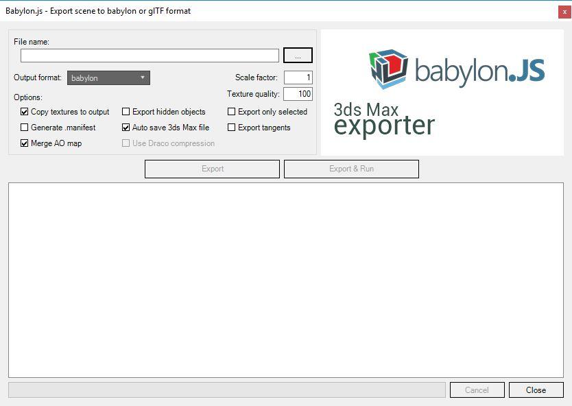 3ds Babylon Exporter