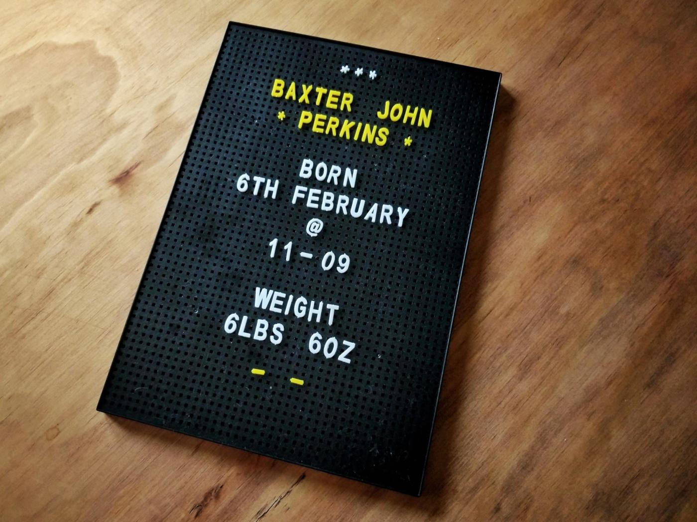 Baxter board