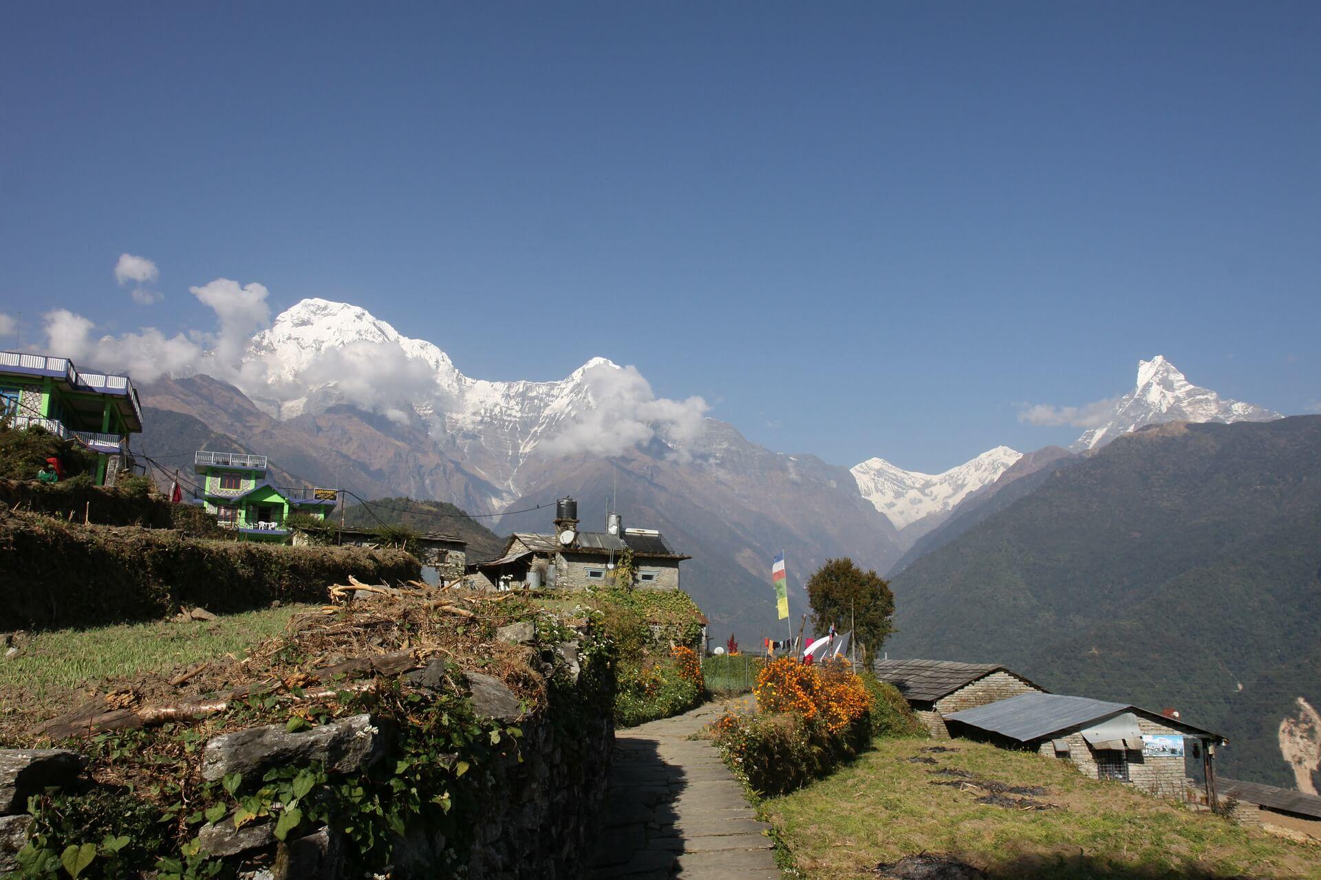 Annapurna Trekking Route