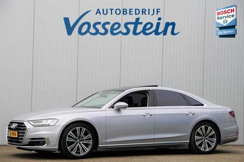 Audi A8 50 TDI quattro Pro Line Plus / B&O / ACC / Side & Lane Assist / Head-Up / Nieuwpr: 168.000,- afbeelding 1