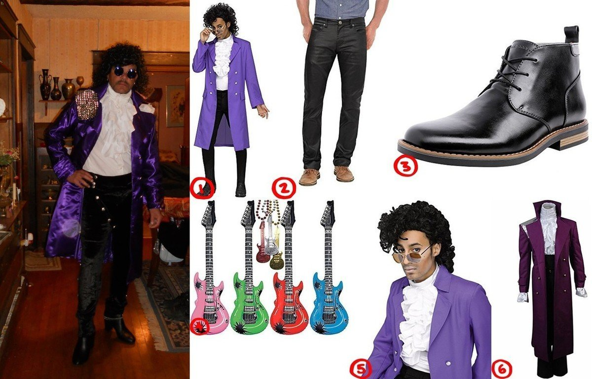 reputable site 3b74b 4697f How To Dress Like Prince (Purple Rain Performance Costume)
