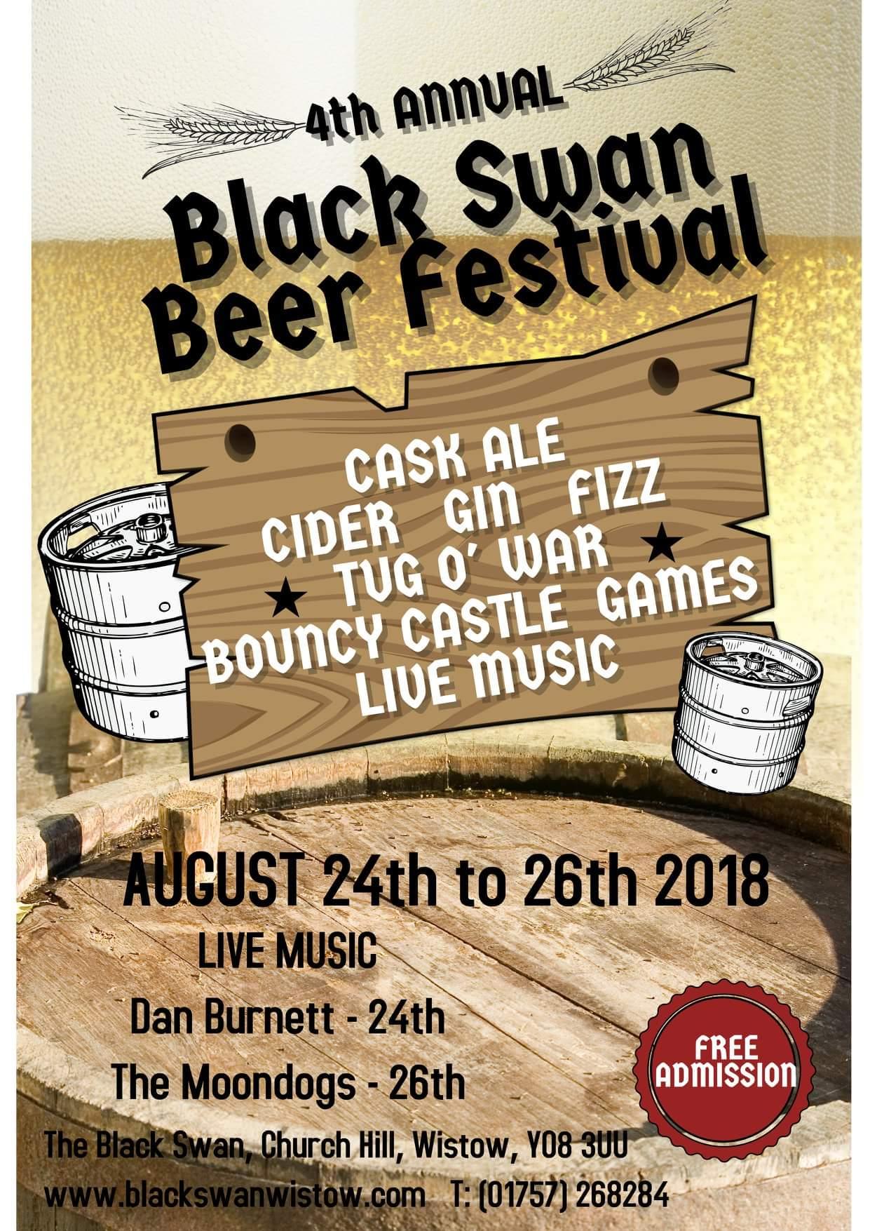 4th Annual Black Swan Beer Festival