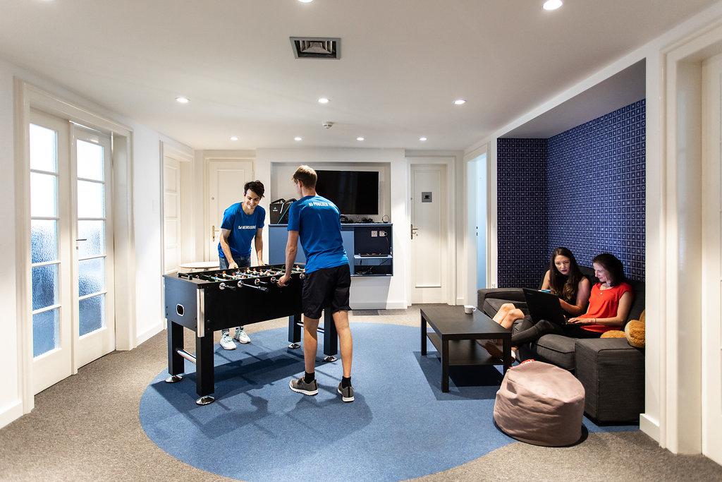 Игровая зона в офисе Memsource