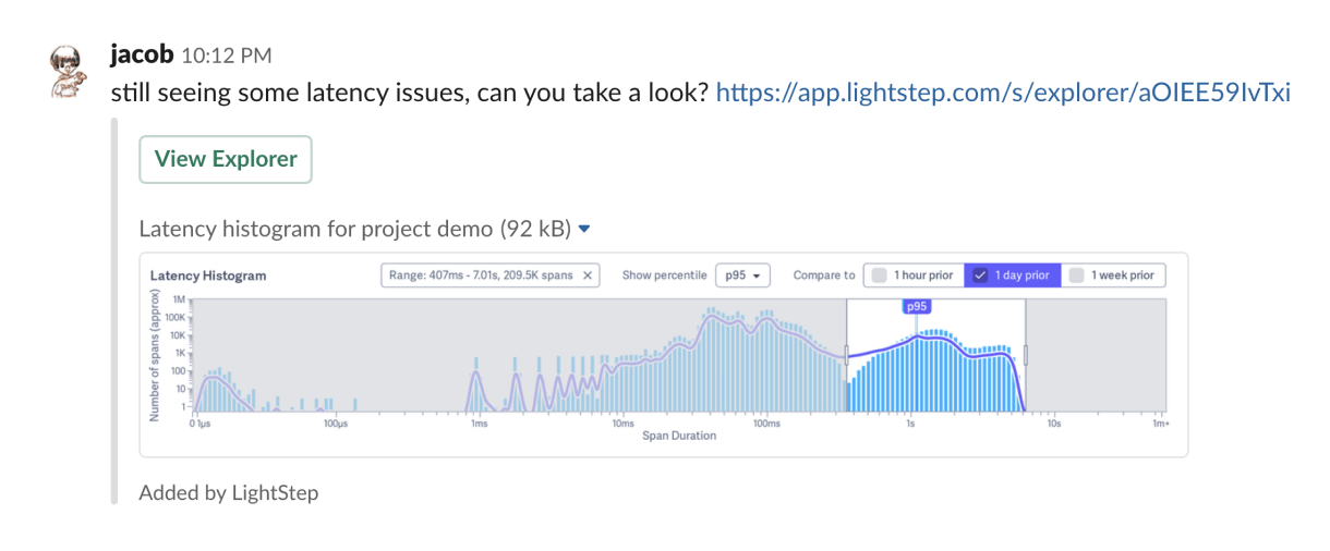 How We Built This: Lightstep's Slack Integration