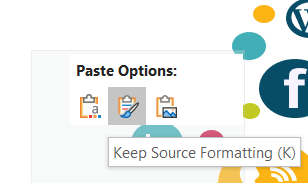 Keep Source Formatting