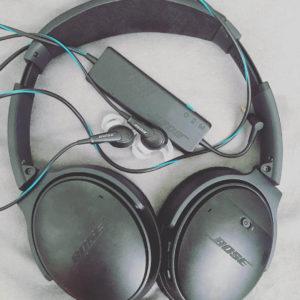 Bose QC20 and Bose QC35 headphones