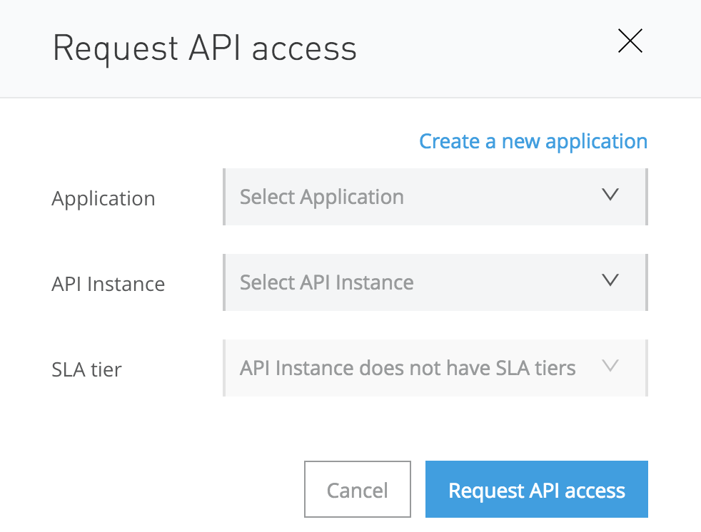 Mulesoft Request API Access