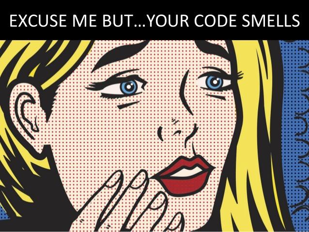 Perdone pero... le huele el código