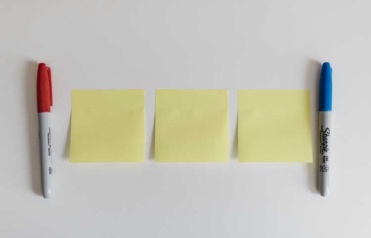Post-its & Index cards