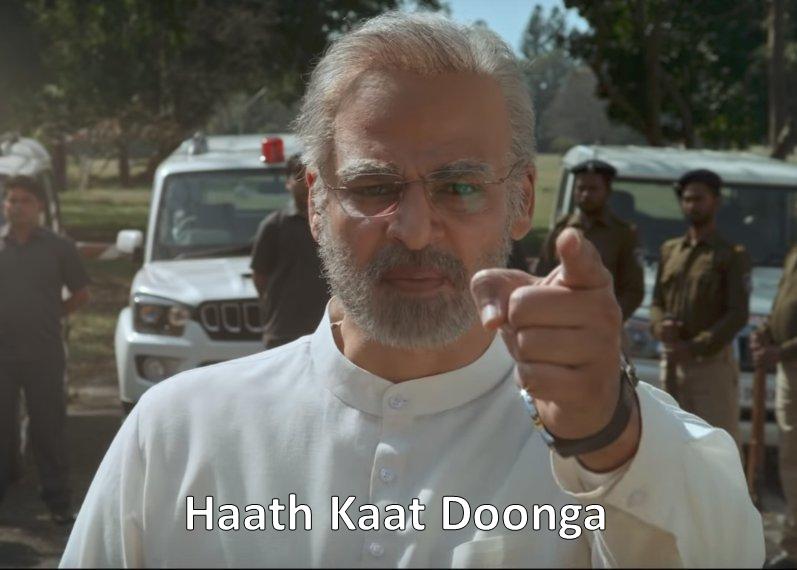 Vivek Oberoi As PM Narendra Modi Haath Kaat Doonga