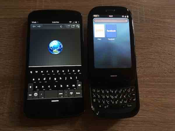 Web Browser LuneOS Nexus 4 and Palm Pre Plus