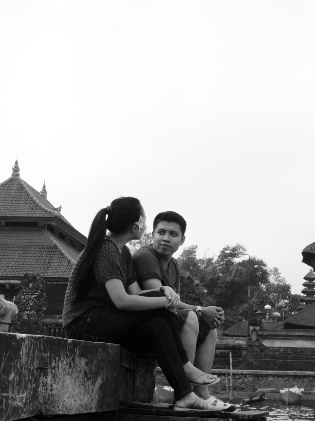 Couple in Bedugul