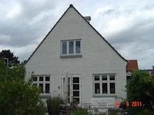Renovering af gavl i Højbjerg