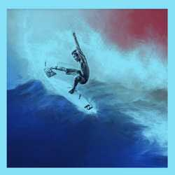 Happy 4th July! Have fun and stay safe #happy4thjuly #surfing #americanflagcolors🇺🇸