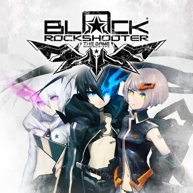Coverart image of Black Rock Shooter: The Game psp