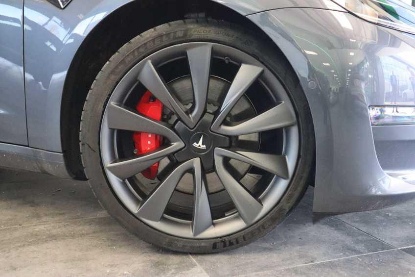 Tesla Model 3 Performance | prijs ex.btw 51450,- | 20`LM Donker grijs. afbeelding 23