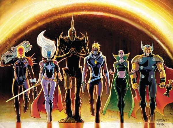 Os Guardiões da Galáxia de Donny Cates