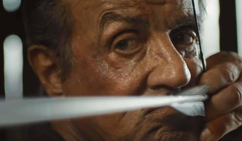 Cena de Rambo Last Blood com Sylvester Stalonne
