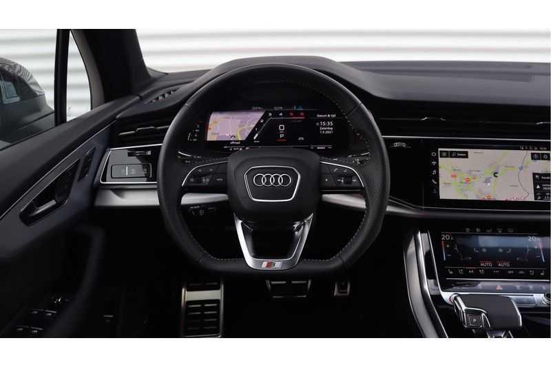 Audi SQ7 4.0 TDI 435pk quattro 7p Panoramadak, BOSE, Massage, Ruitstiksel, Trekhaak afbeelding 6