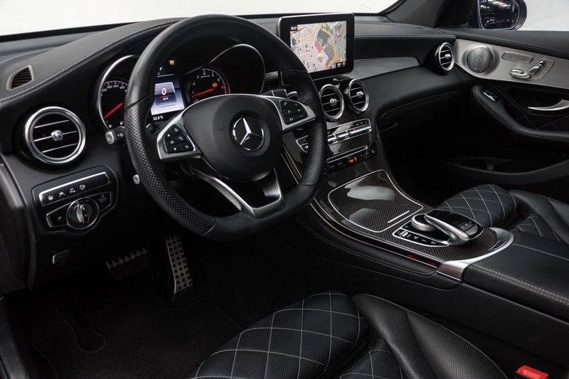 "Mercedes-Benz GLC GLC43 AMG 367pk 4Matic Panoramadak Luchtvering Nightpakket Distronic Keyless Burmester Sportleder+Memory Carbon AmbientLight ComandOnline 21"" Parktronic 360Camera Pdc afbeelding 17"
