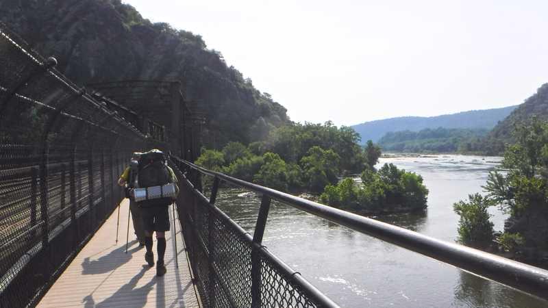 Crossing the Potomac River