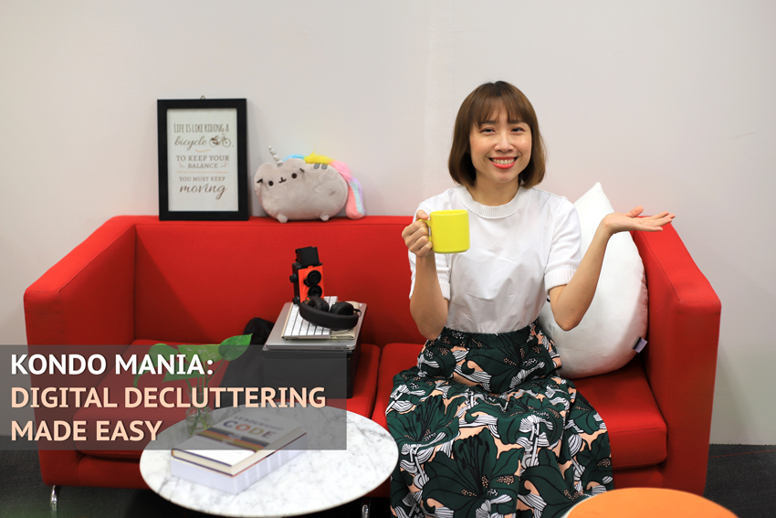 GovTech's Marie Kondo teaching us about digital decluttering