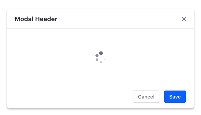 Modal loading content