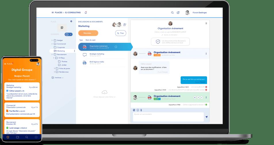 Shareplace collaborative software
