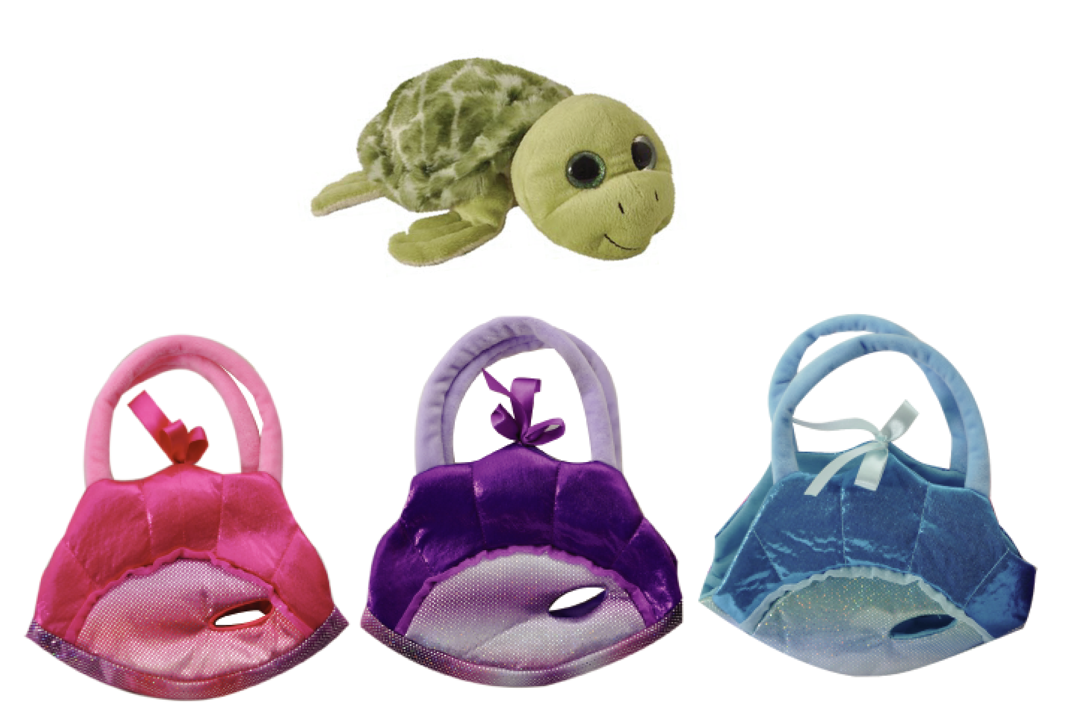 The Petting Zoo: Sea Turtle Purse Assortment