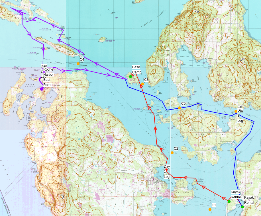Salish Sea Itinerary