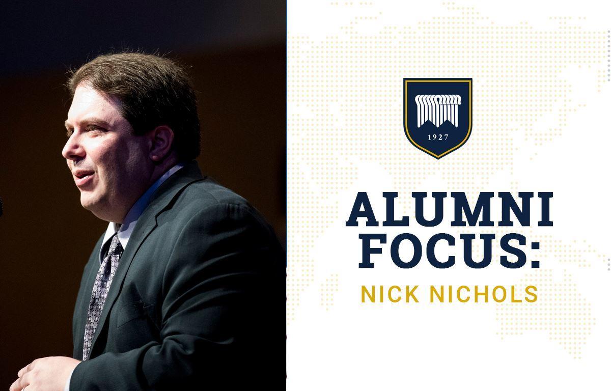 Alumni Focus: Nick Nichols