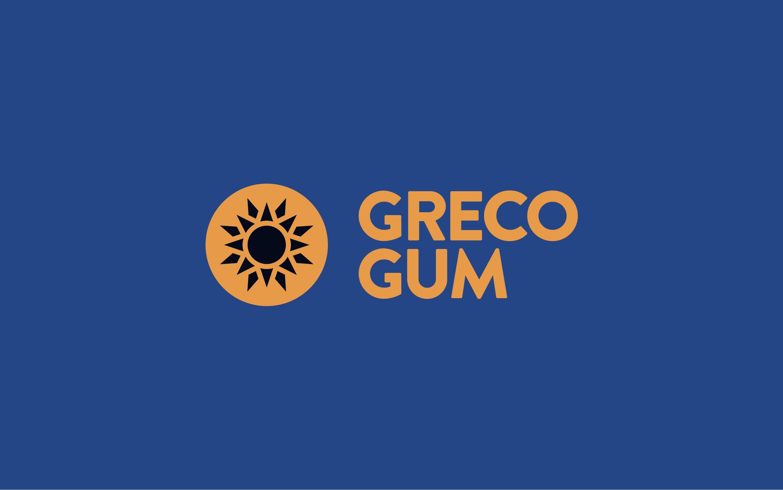 Logo design for Greco Gum e-commerce brand