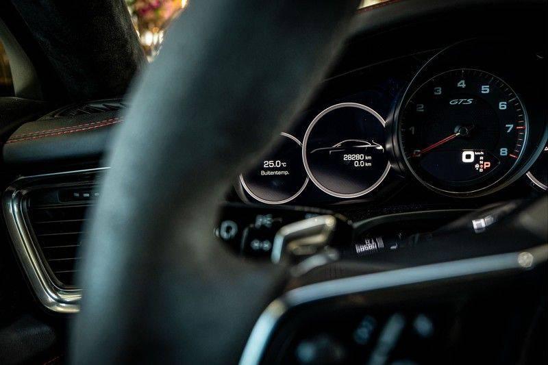 Porsche Panamera 4.0 GTS Sport Turismo | 360 | HUD | BOSE |PANO | Soft close | DAB | LED Matrix | Afstandstempomaat | Karmin Rood pakket, rood st afbeelding 11