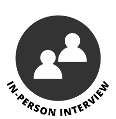In-person interview