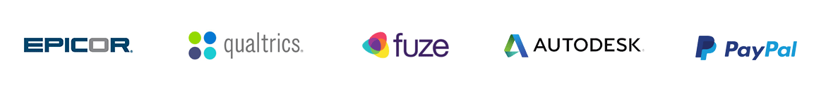 epicor qualtrics fuze autodesk paypal employee referrals