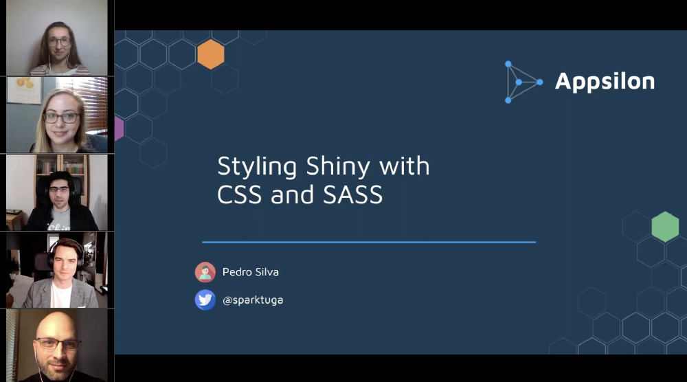 Styling Shiny with CSS & SASS and Speeding Up Shiny Apps