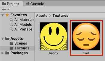 Unity Asset in Project Window