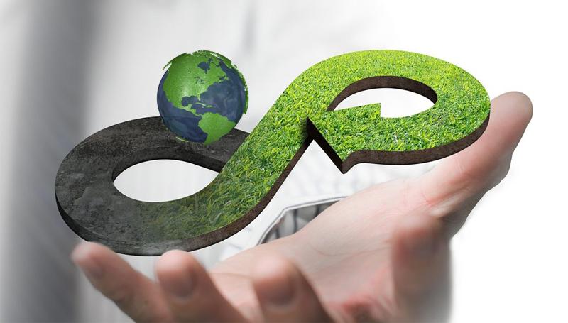 Imagem em destaque para o artigo: Você sabe o que é Economia Circular? Conheça o conceito!