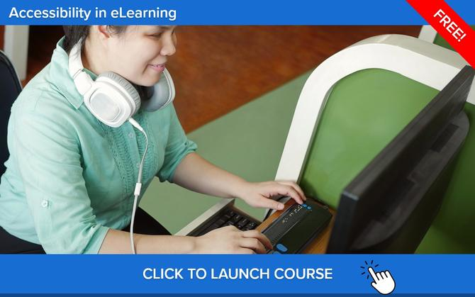 Free Accessibility In eLearning Course