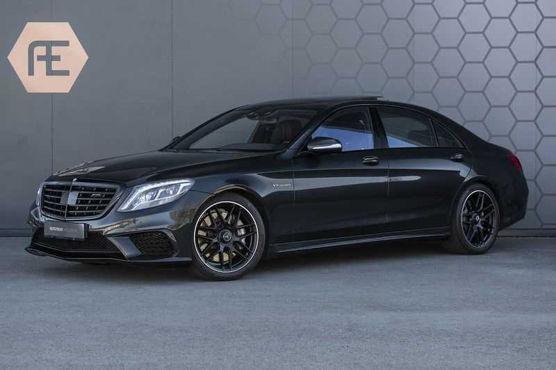 Mercedes-Benz S63 AMG Lang 4-Matic BTW-auto + Magnetite Black + Panoramadak S 63 DISTRONIC Plus + MASSAGE afbeelding 1