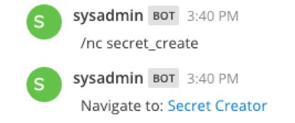 Secret Create