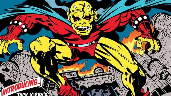 Capa da edição 1 da panini do Etrigan de Jack Kirby