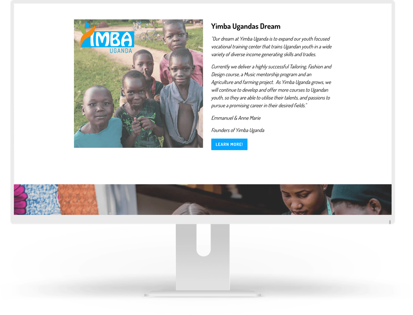 Shopify Yimba Uganda Website by Ten Squared